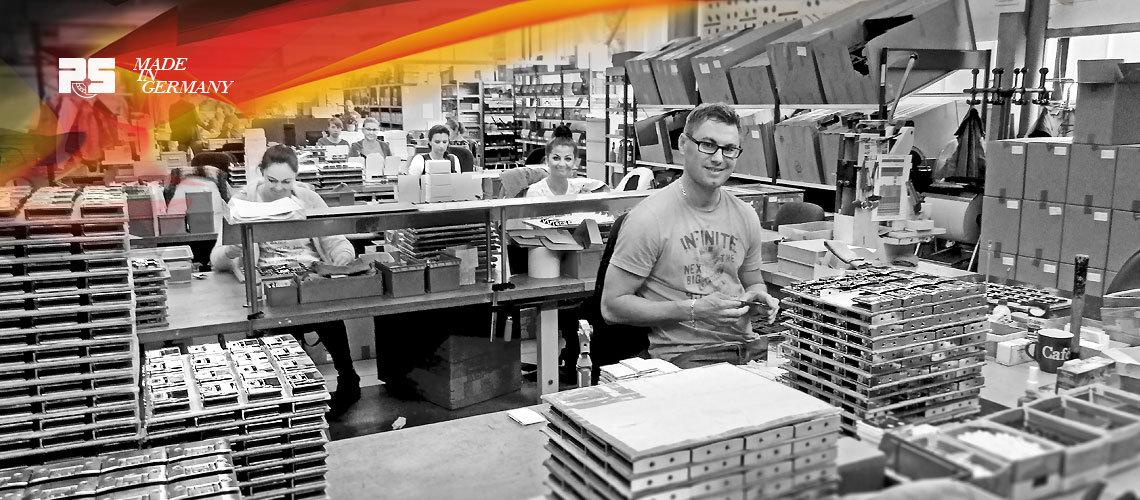 Фабрика Pauli Sohn в Германии