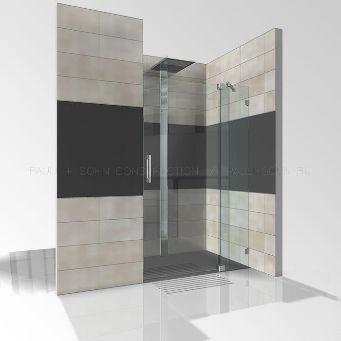 стеклянная дверь в душевую
