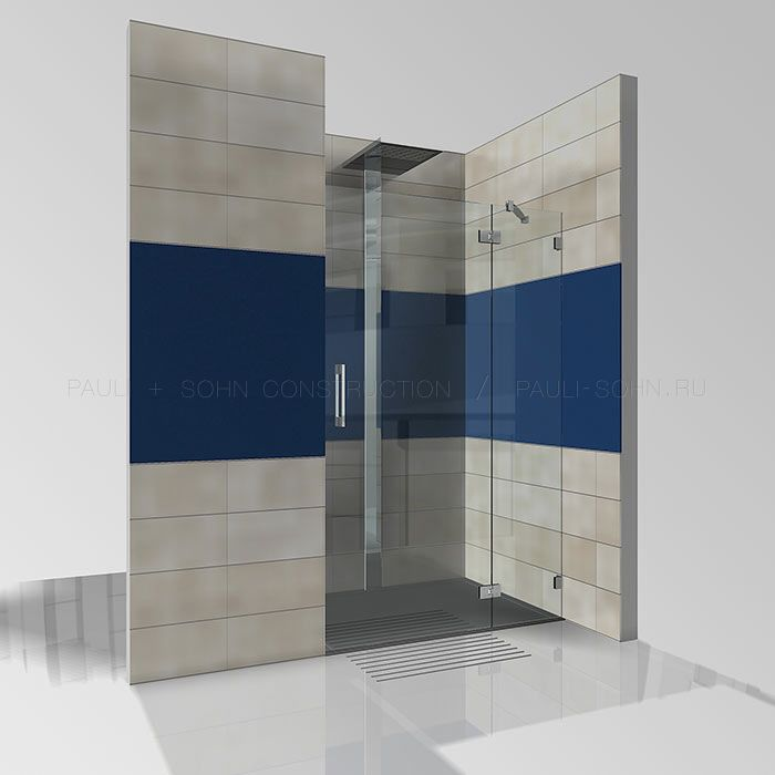 Стеклянная дверь Flamea