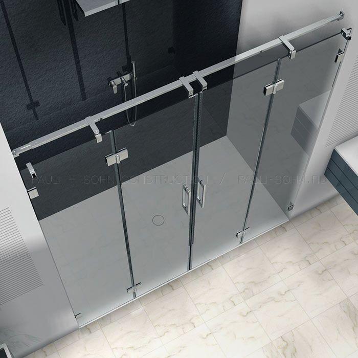 Стеклянные двери для перегородки