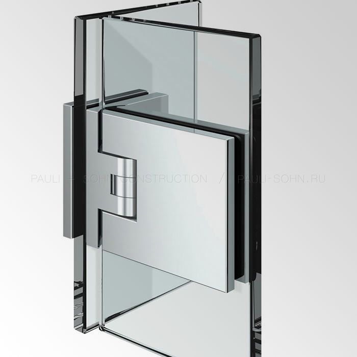 Петля стекло стекло 90 Flamea+ 8136