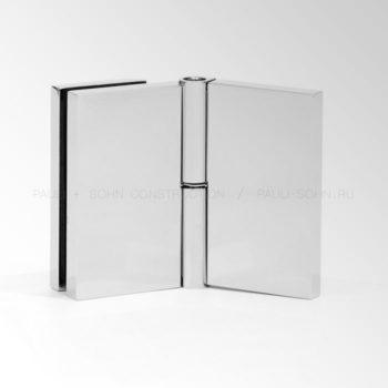 Регулируемый коннектор стена стекло 135