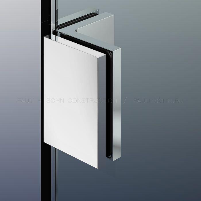 Угловой коннектор стекло-стекло