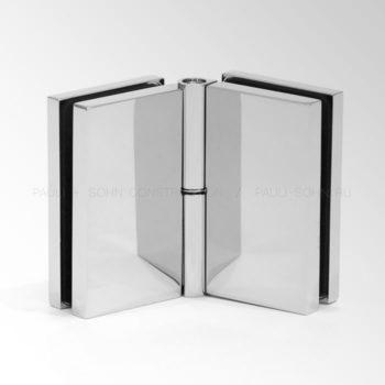 Регулируемый коннектор стекло-стекло 135