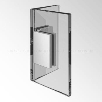 Регулируемый коннектор стекло-стекло