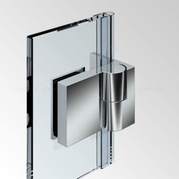 Петля стена-стекло 8369-R